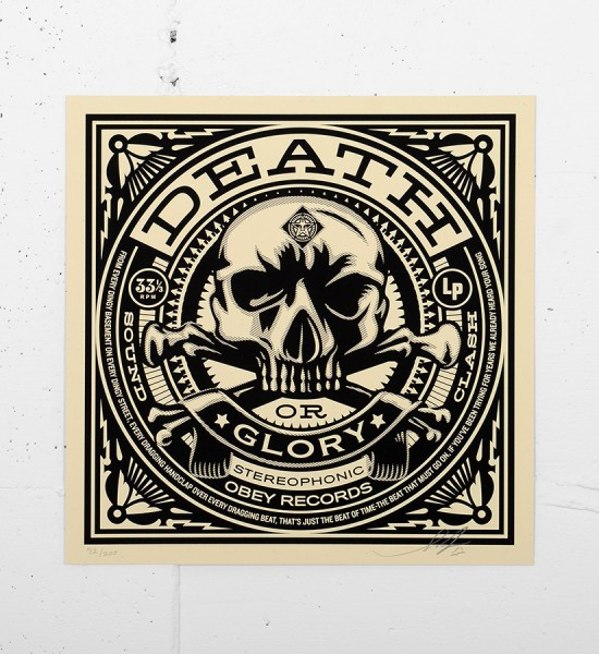 Obey_shepard_fairey_50 Shades of Black Box Set obey giant serigraphie screen print art sell gallery-death-or-glory-records-cover
