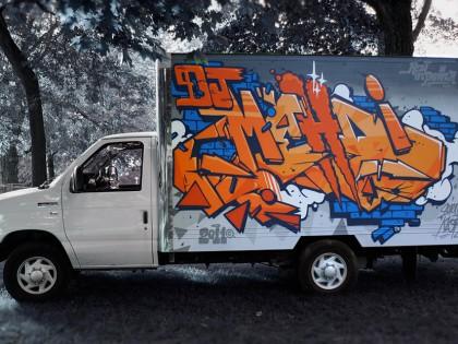 123Klan – Graffiti Hommage à DJ Mehdi