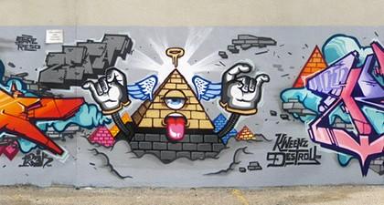 Scien – Zeta – Klor – Graffiti Montréal 2010