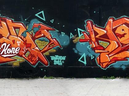 123Klan – Graffiti Scien et Klor à Santiago