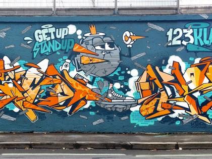 123Klan – Graffiti festival «Teenage Kicks» à Rennes 2013