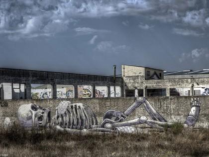 Aryz – Graffiti «El Cuiner» 2012