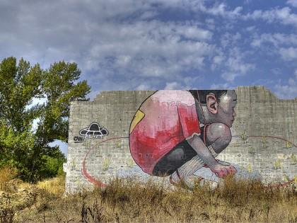 Aryz – Graffiti Barcelona 2012