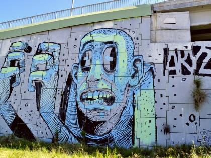 Aryz – Graffiti – Montornès del Vallès 2012