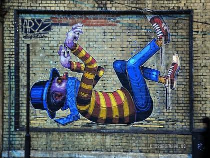 Aryz – Graffiti 2009