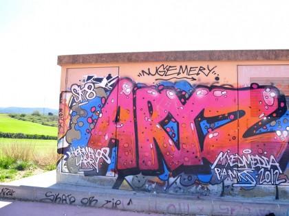 Aryz – Graffiti – Carcadedeu 2012