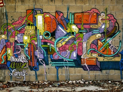 Aryz et Larry – Graffiti 2014
