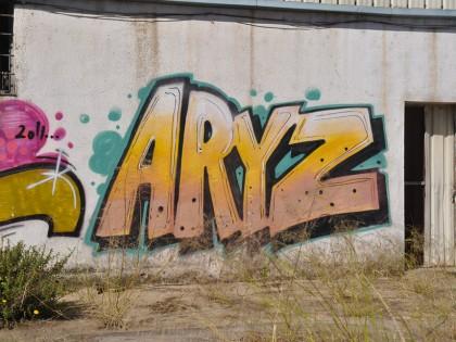 Aryz – Graffiti 2012