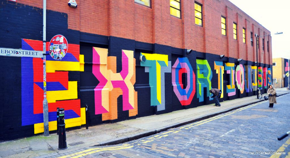 Ben-Eine-london-letter-extortionists-graffiti-spray-bomb-wall-painting-street-art-urbain-2013-web