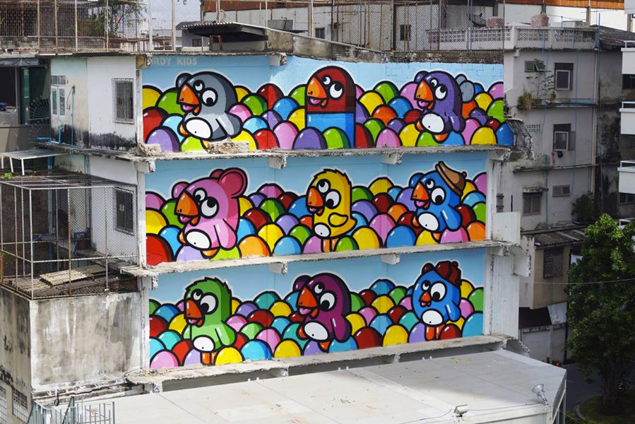 Birdy-Kids-Bangkok-graffiti-building-wall-painting-print-street-art-urbain-2014-web