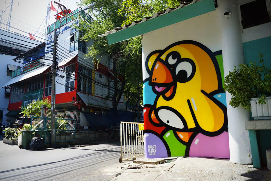 Birdy-Kids-Bangkok-graffiti-house-wall-painting-home-print-street-art-urbain-2014-web