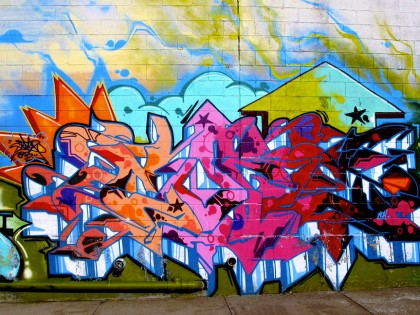 Cope2 – Bushwick graffiti 2012