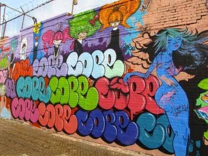Cope2 et Sofia Maldonado – Graffiti 2011