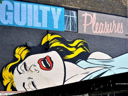 D*Face – Guilty Pleasures graffiti 2013