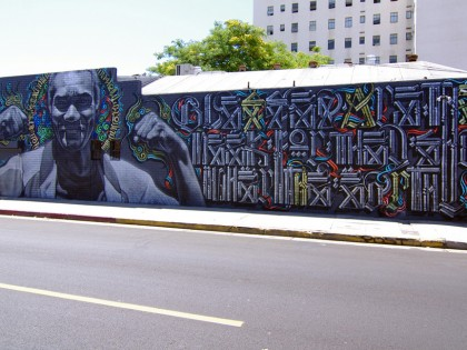 El Mac et Retna – Los Angeles 2011