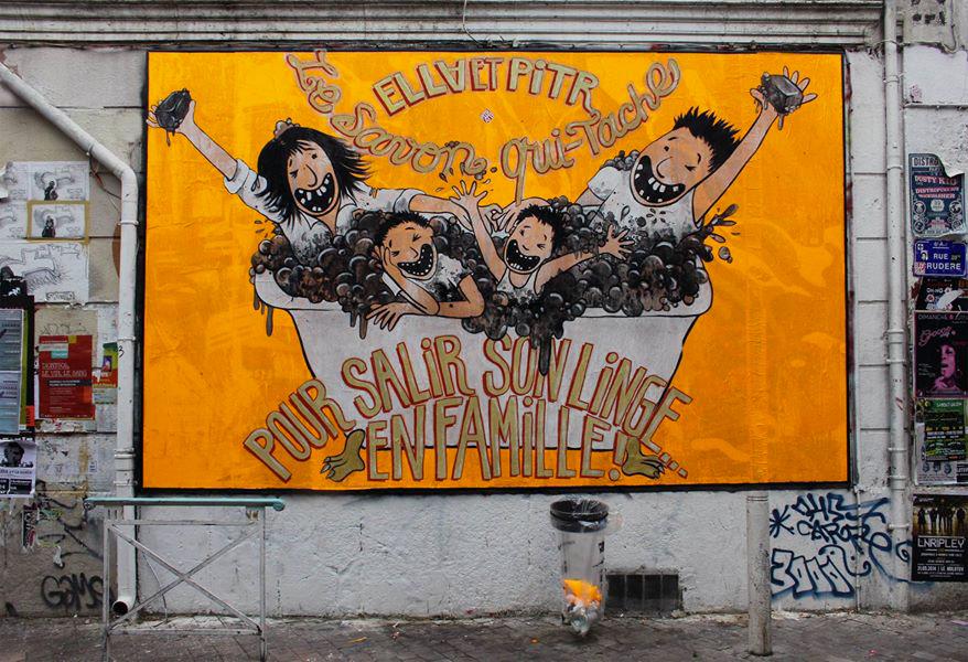 Ella-&-Pitr-Marseille-le-MUR-collage-graffiti-street-art-ubrain-les-papiers-peintres-france-2014_1-web
