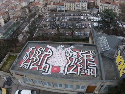 Ella & Pitr – Rooftop St Etienne 2014