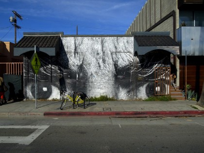JR – Eyes – Venice USA 2011