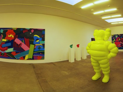 Kaws – Honor Fraser Gallery 2009