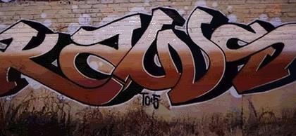 Kaws – Graffiti de 2005