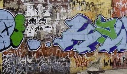 Kaws – Graffiti 2005