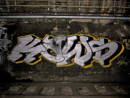 Kaws – Graffiti en 2000