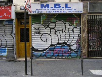 Mike Giant – Graffiti Paris 2007