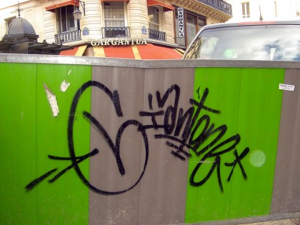 Mike Giant – Graffiti Paris 2006