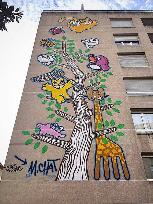 Mr-Chat-Birdy-Kids-Villeurbanne-immeuble-graffiti-mural-wall-painting-print-street-art-urbain-building-2013-web