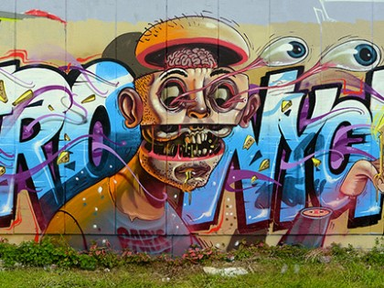 Nychos et Astro – Graffiti 2012