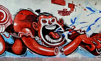 Nychos et Besok – Graffiti 2011