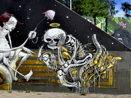 Nychos et Dome – Graffiti 2011
