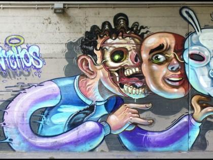 Nychos – Graffiti Vienne