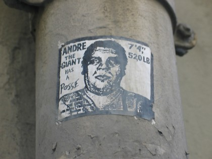 Shepard Fairey (Obey) – Sticker Paris 2007