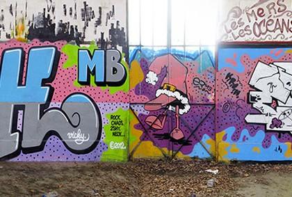 Patrice Poch et Erms – Graffiti Rennes 2012