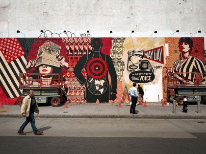 Shepard Fairey (Obey) – Mural Houston 2010