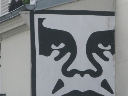 Shepard Fairey (Obey) – Paris 2010