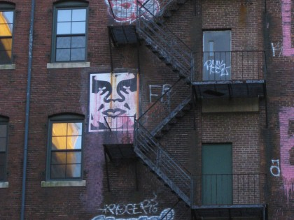 Shepard Fairey (Obey) – Boston 2010