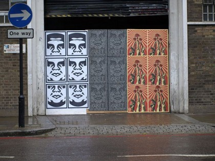 Shepard Fairey (Obey) – Londres 2007