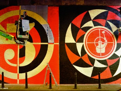 Shepard Fairey (Obey) – Graffiti Londres 2012