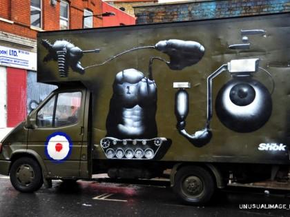 Shok-1 – Graffiti truck 2010