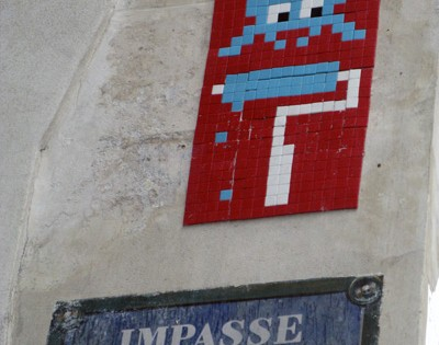 Invader – Invasion Paris 2012