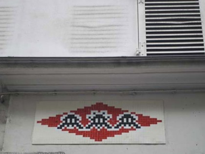 Invader – Invasion Paris 2011
