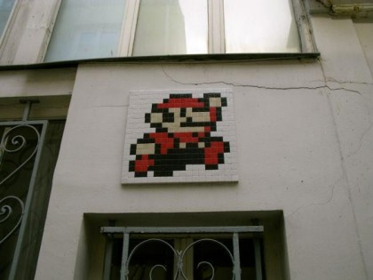 Invader – Invasion Paris 2014