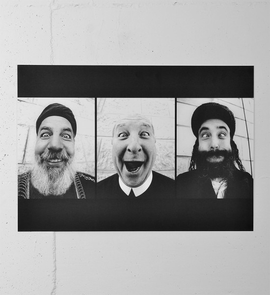JR Holy Triptych print 28 Millimeters Face 2 Face photo street art urbain 1