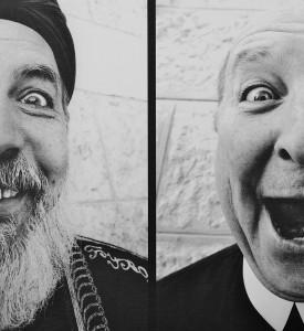 JR Holy Triptych print 28 Millimeters Face 2 Face photo street art urbain