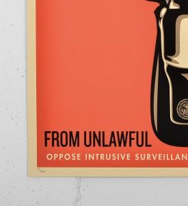 Obey Home invasion 1 screen print shepard fairey serigraphie graffiti street art urbain 2