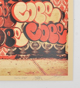 Shepard Fairey Obey Cope2 Martha Cooper screen print graffiti bronx street art urbain subway new york serigraphie 3