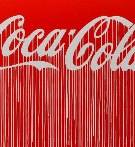 Zevs Liquidated Coca Cola Luminescent Print Edition print street art urbain artwork 3