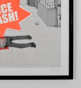 dran price crash screen print serigraphie graffiti street art urbain toulouse 3